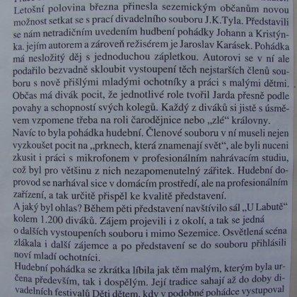 Sezemický zpravodaj 1998