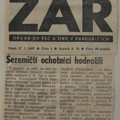 Zář 27.1.1967