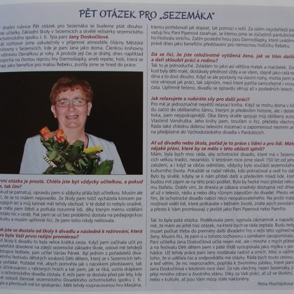 s režisérkou Janou Doskočilovou
